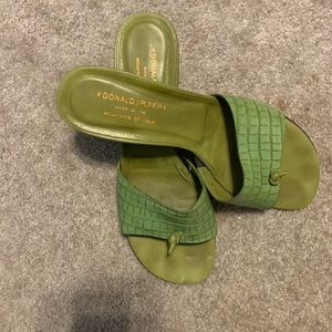 Authentic Donald J Pliner sandals.